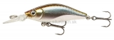 Wobler Team Cormoran Deep Baby Shad Reloaded 4cm chrome plotica