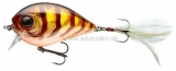 Wobler Team Cormoran Belly Dog N 6,8cm perch transparent