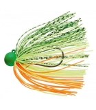Jigová hlavička Daiwa Tournament Rubber Jig SS RH 7g green/yellow/orange