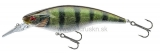 Wobler DAIWA PROREX Flat Bait MR 10cm Live perch