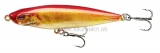 Wobler DAIWA PROREX Pencil Bait 65SS Slow Sinking 6,5cm Live orange bleak