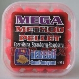 TOP MIX mega method pelety 11mm jahoda-malina 50g