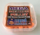 TOP MIX mega method pelety 11mm čokoláda-pomaranč 50g