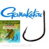 Háčiky GAMAKATSU G-carp Method Hook č.1 10ks