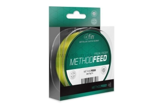 VLASEC FIN METHOD FEED 5000m/žltá  0,18mm 6,6lbs