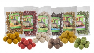 Boilies Benzár Mix Turbo boilies 16mm Med 250g