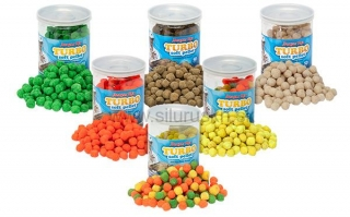 Pelety Benzár Mix turbo soft pelety XL Fluo Carp 50gr.