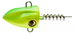 Šróbovacia záťaž Daiwa Prorex Screw-In Pelagic Head 40g Lime chartreuse