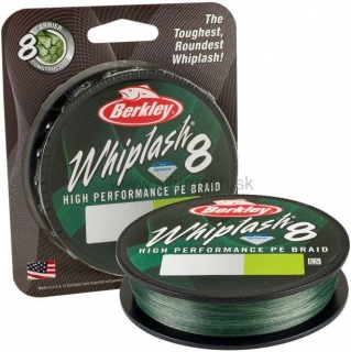 Šnúra BERKLEY Whiplash 8 Green 150m 0,25mm
