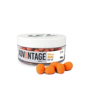 Pelety DAIWA Advantage Pop-Up 8/10mm Orange 18g