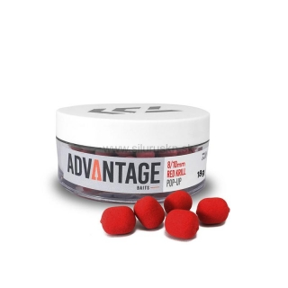 Pelety DAIWA Advantage Pop-Up 8/10mm Red Krill 18g