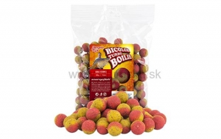 Boilies BENZAR MIX Turbo Bicolor Med- Ananás 250g
