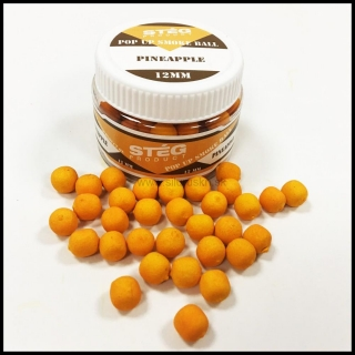 Boilies STÉG SmOke Ball PopUp ananás 40g 12mm