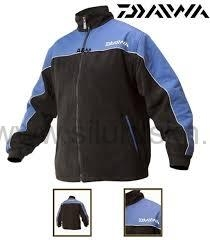 "Bunda DAIWA ""UK"" Fleece Jacket čierno-modrá (L-XXL)"
