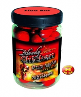 Boilies Radical Neon Pop Up Bloody Chicken 16+20mm