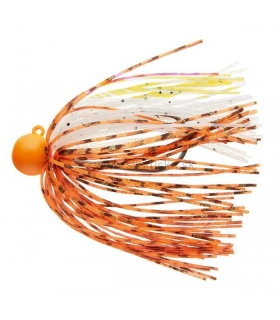 Jigová hlavička Daiwa Tournament Rubber Jig SS RH 7g orange/white