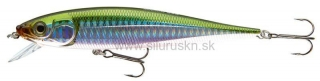 Wobler Team Cormoran Minnow N45 12cm Rainbow green
