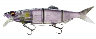 Wobler DAIWA PROREX Hybrid Swimbait 18cm Ghost purple ayu