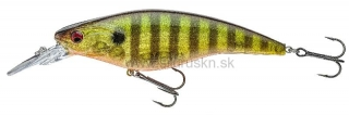 Wobler DAIWA PROREX Flat Bait MR 10cm Gold perch