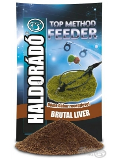 Krmivo HALDORADO Top Method Feeder Brutal liver 800g