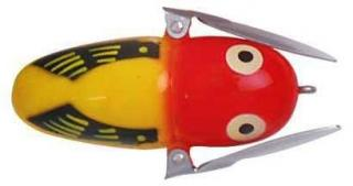 Wobler HEDDON Crazy Crawler Tiny YRH Yellow Hornet