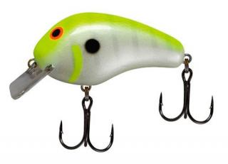 Wobler BOMBER Balsa Model B Chartreuse Shad