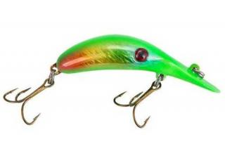 Wobler LINDY River Rocker 6cm Lime Disease