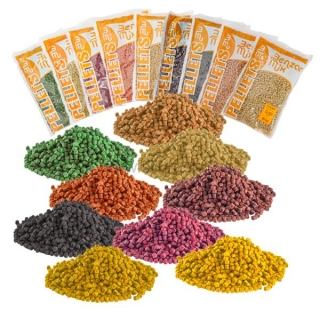 Pelety Benzar mix 6mm Med 800gr.