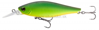 Wobler DAIWA Tight Wave Shad 7,5cm Mat hot chartreuse