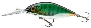 Wobler Team Cormoran Belly Diver N 7,2cm green shinner