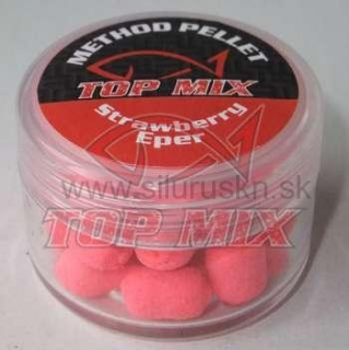 TOP MIX method pelety 8mm jahoda 7g