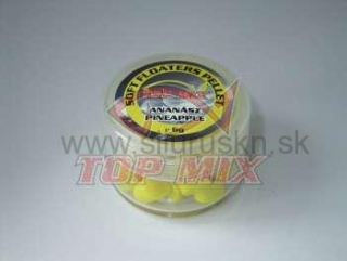 TOP MIX soft floaters pelety 7mm ananás 6g