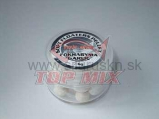 TOP MIX soft floaters pelety 7mm cesnak 6g