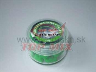 TOP MIX soft floaters pelety 7mm green betain 6g