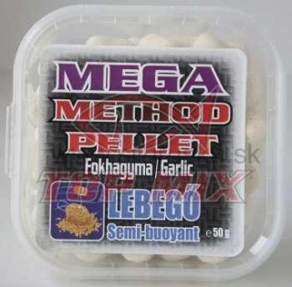 TOP MIX mega method pelety 11mm cesnak 50g