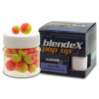 Haldorádó Boilies BlendeX PopUp Method 12-14mm jahoda-med 20g