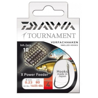 Nadviazané háčiky DAIWA Tournament X Power Feeder č. 6