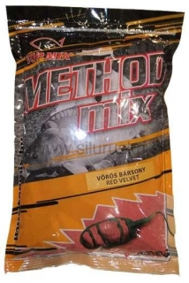 Krmivo TOP MIX Method Mix Červený zamat 850g