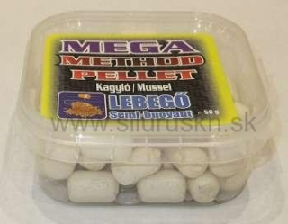 TOP MIX mega method pelety 11mm mušľa 50g