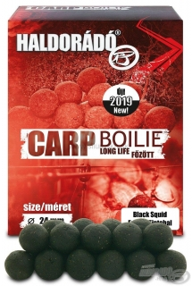 Haldorádó Carp Boilie Long Life 1kg 24mm Black Squid