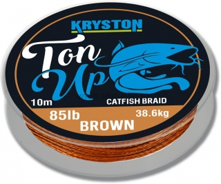 Šnúra Kryston Ton Up Catfish Braid 85Lbs 10m