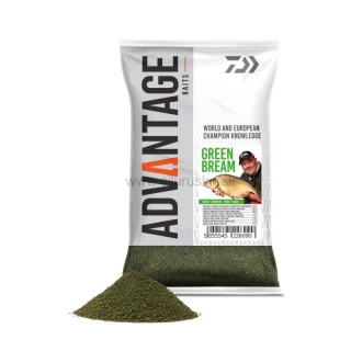 Krmivo DAIWA Advantage Green bream 1kg