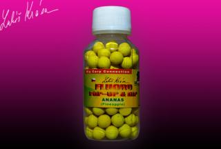 Boilies LK BAITS Pop-up Fluoro 10mm Ananás 150ml