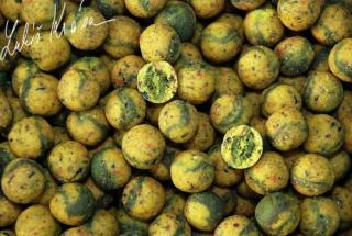Boilies LK BAITS Top Restart 3kg 18mm Green Banana