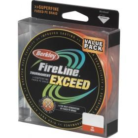 Šnúra BERKLEY Fireline Exceed Red 125m 0,10mm