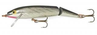 Wobler REBEL Jointed Minnow J1001 Silver/Black