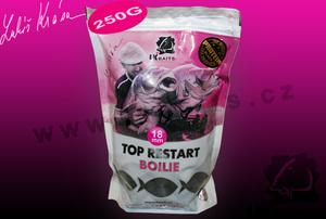 Boilies LK BAITS Top Restart 250gr 18mm Black Protein