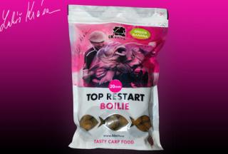 Boilies LK BAITS Top Restart 1kg 18mm Green Banana