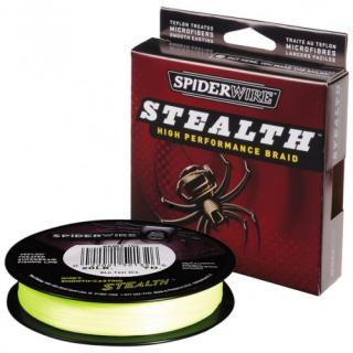 Šnúra SPIDER Stealth Yellow 137m 0,25mm